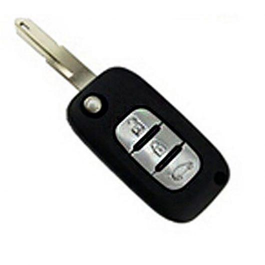 Ключ Renault / Dacia / Opel / Nissan - 3 кнопки, 434MHz, ID46 (PCF7947) - VA2, NE73