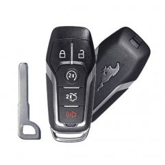 Ford Mustang (2015-2017), Smart Key, 5 кнопок, 902 MHz, Hitag Pro