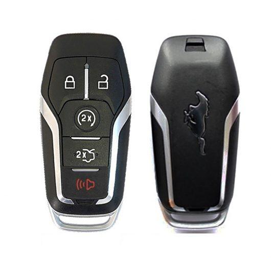 Ford Mustang (2015-2017), Smart Key, 5 кнопок, 902 MHz, Hitag Pro
