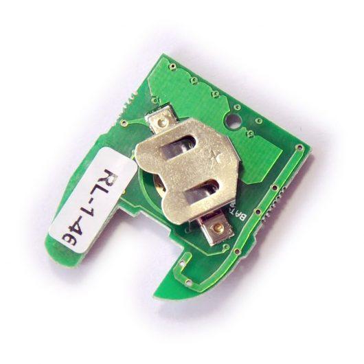 Ключ Renault Clio / Kangoo / Master (1998-2002) - 1 кнопка, 434MHz, ID33 (U9280M) - NE73, VAC102