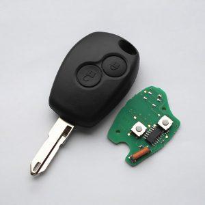 Ключ Renault - 2 кнопки, 434MHz, ID46 (PCF7946/PCF7947) - NE73