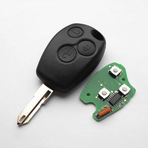 Ключ Renault - 3 кнопки, 434MHz, ID46 (PCF7946/PCF7947) - NE73
