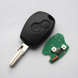 Ключ Renault - 2 кнопки, 434MHz, ID46 (PCF7946/PCF7947) - VAC102