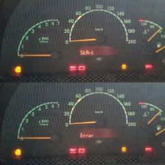 """Start error"" на Mercedes Sprinter, Vito, A-Class"