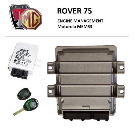 Rover 75 - Motorola MEMS3 - EWS3 (ремонт, синхронизация, привязка, адаптация блока управления двигателем)