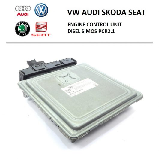 VW, Audi, Skoda Seat - Simos PCR2.1 (ремонт, клонирование, синхронизация, привязка, адаптация блока управления двигателем)