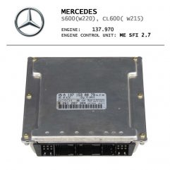 Mercedes W220 W215 - ME2.7 - A1371530079 A1371530179 A1371530479 A1371530879 A0001532879 - ремонт блока управления двигателем